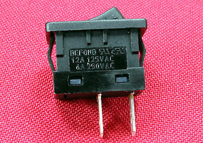 Mini Defond SPTS Momentary On-Off Rocker Switch 125v-12Amp NC BI5
