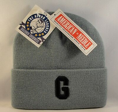 Homestead Grays Negro Leagues Cuffed Knit Hat Vintage American Needle