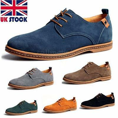 2016 UK Suede European style leather Shoes Men Lace up Oxfords Casual Multi Size