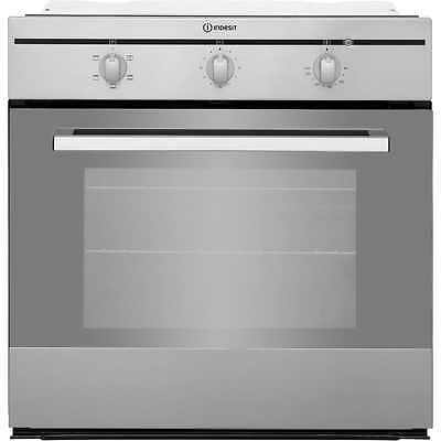 Indesit FIM21KBIX Built In Electric Single Oven 60cm Single Cavity Stainless