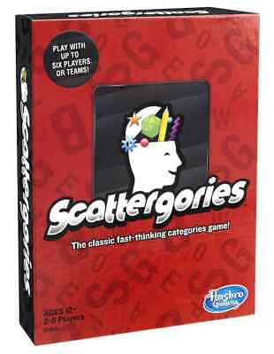 The Game Of Scattergories - New Version
