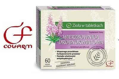 Epilobium parviflorum 60 tabs. herbs in tablets Urinary System Prostate