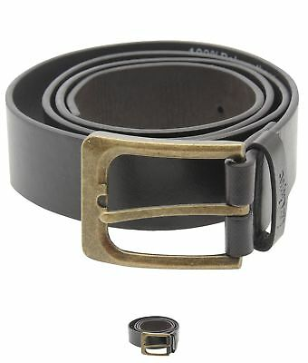 MODA Lee Cooper Plain Core Belt Mens Brown