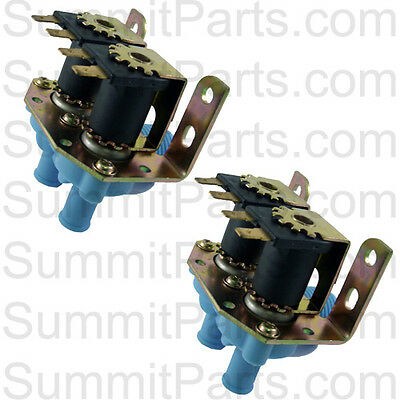 2Pk - High Quality Inlet Valve, 2-Way, 110V For Dexter Washers - 9379-183-001