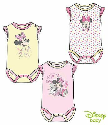 Disney Minnie Mouse Bodysuit/Vest - Baby Girls