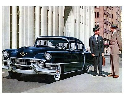1954 Cadillac Factory Photo ca4511
