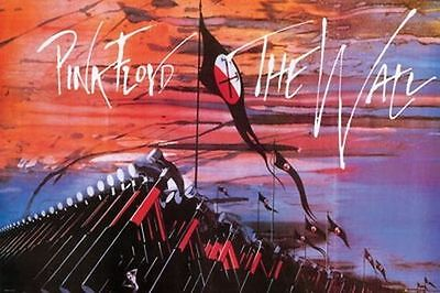 PINK FLOYD - THE WALL - MARCHING HAMMERS POSTER - 24 x 36 CLASSIC ROCK 34123