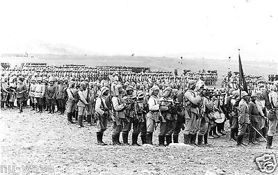 Ottoman soldiers in military preparations for assault on the Suez Canal in 1914