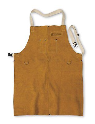 Hobart 770548 Leather Welding Apron (Heavy duty stitching, Superior protection)