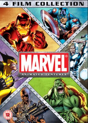 Marvel Animated Features Collection DVD (2012) Curt Geda cert 12 4 discs