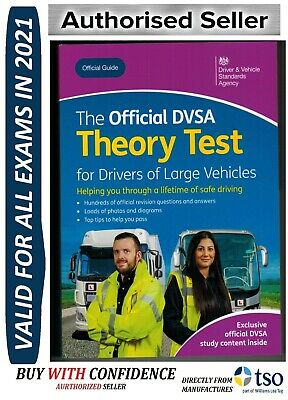 DVSA THEORY TEST Q&A BOOK for LORRY and BUS DRIVERS LGV / PCV / HGV 2019 'LGV