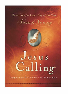 JESUS CALLING: Enjoying Peace in His Presence by Sarah Young Hardcover Devotions