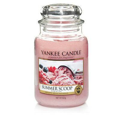 Yankee Candle Summer Scoop Large Jar Scented Candle