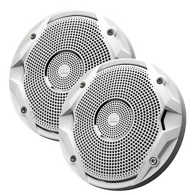 "JBL MS6510 150W,6.5"" Dual Cone Marine Speakers,(Pair) White,MS6510"