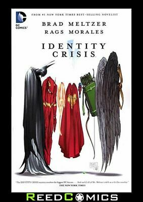 IDENTITY CRISIS GRAPHIC NOVEL NEW EDITION New Paperback Collects 7 Part Series