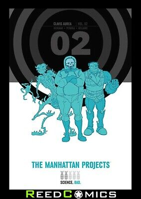 THE MANHATTAN PROJECTS VOLUME 2 OVERSIZED HARDCOVER New Hardback Collects #11-20