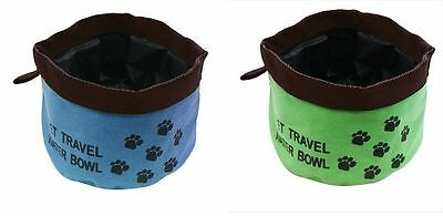 Water Bowl Flexible Collapsible Hot Weather Dog Car Pet Travel Water Bowl Ry787