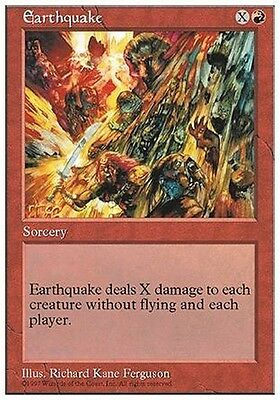 2x Terremoto - Earthquake MTG MAGIC 5E 5th Edition Eng/Ita