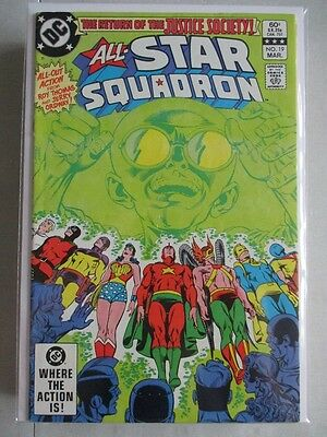 All Star Squadron (1981-1987) #19 FN/VF