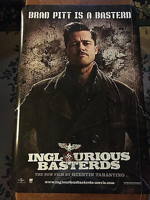 INGLOURIOUS BASTERDS Authentic Rolled 27x40 Double Sided Theatrical Movie Poster