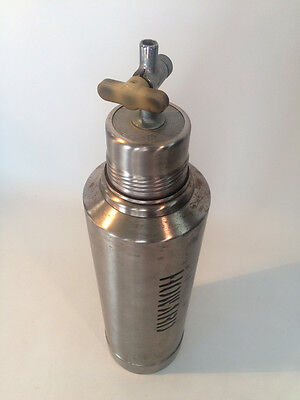Vintage ALADDIN STANLEY Thermal Stainless Hot and Cold Container with Spout