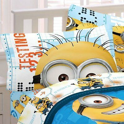 Universal Minions Testing 1234 Microfiber Bed Sheet Set Twin Blanket Kids Sheets