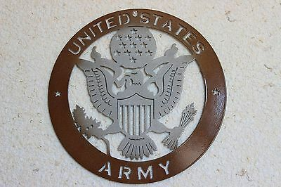 United States Army || Wall Decor, Plasma Art, Metal Art, Garage Art, man cave