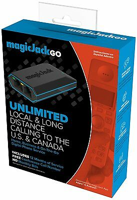 Magicjack Go! 2014 Version, 12 Months Free Service by magicJack (K1103) NEW