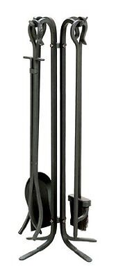 Uniflame F-11140 5-Piece Wrought Iron Toolset, Black Black wrought by Uniflame