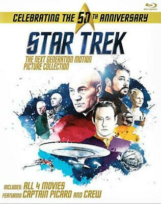 Star Trek: The Next Generation Motion Picture Collection New Blu-Ray