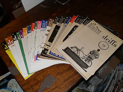 Rare 1986 DRIFFS Magazine Collection - Full Set  No.1 to 22