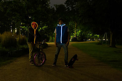 Flash Hoodie - Active Ambient Lightwear - Leuchthoodie In Drei Farbkombinationen