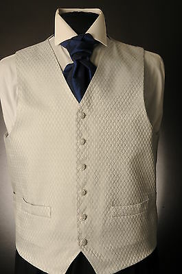 W-577 Mens&boys Silver Diamond Wedding Waistcoat Formal/dress/wedding/sui