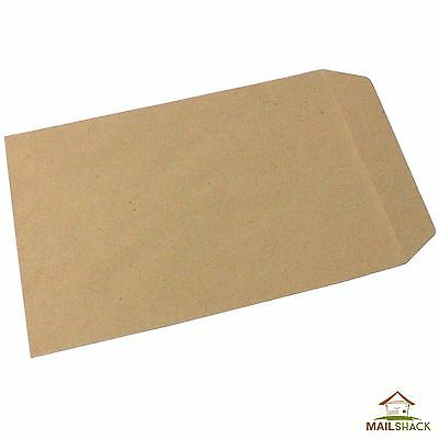 Manilla C5 Envelopes 80gsm Gummed Plain HIGH QUALITY | 10 20 50 100 200 500 etc
