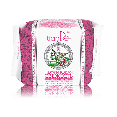 TianDe Nephritic Freshness Ultra Thin Panty Liners with Mint and Herbal Extracts