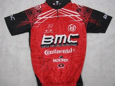 CADEL EVANS Hand Signed Cycling Jersey 2