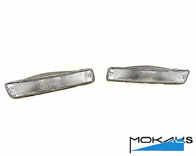 toyota landcruiser 80 Series Clear Front Indicators (pair)