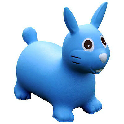 Rabbit Animal Space Hopper Sit & Ride Inflatable play soft fun pvc toy CW7602