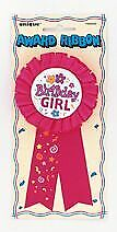 Birthday Girl Rosette Badge | Birthday Badges for Kids