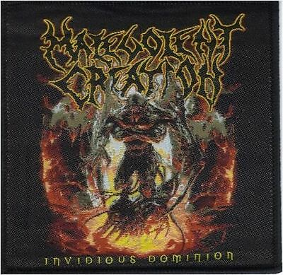 MALEVOLENT CREATION - Invidious Dominion - Woven Patch / Aufnäher