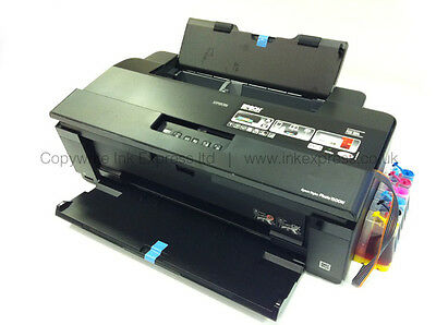 Epson 1500W A3 Photo Printer + Continuous Ink System CISS Ideal for Card Making