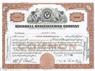 23396 Hwp /  Rockwell Manufacturing Company