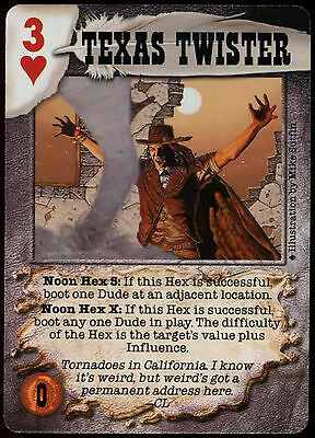 C95 CCG Card EP4 Deadlands Doomtown Greased Lightning Pill