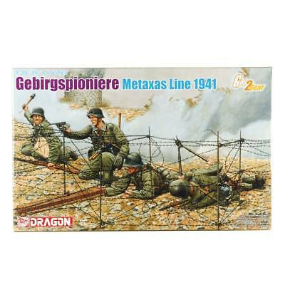 NEW Dragon Models 1/35 Gebirgspionier Metaxas Line 1941 (4) 6538