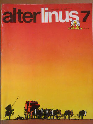 Alter Linus n°7 1975 Jean Claude Forest I naufraghi del tempo [G418]