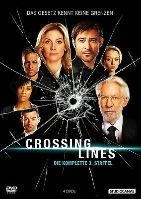 Crossing Lines - Die komplette Staffel/Season 3 # 4-DVD-BOX-NEU