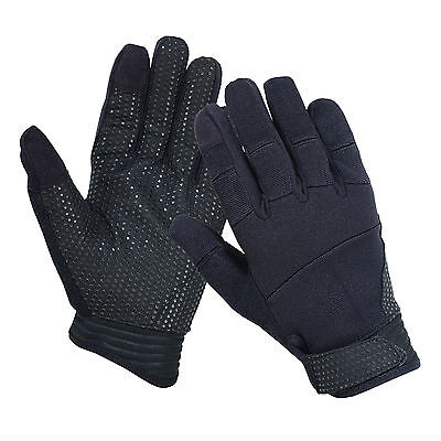 Tactical Touch Screen Police Duty Shooting Strong Grip Mechanic Working Gloves