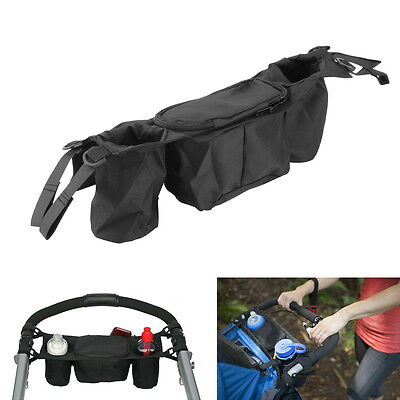 Cup bag Baby Stroller Organizer Baby Carriage Pram Buggy Cart Bottle Bags NEW FO