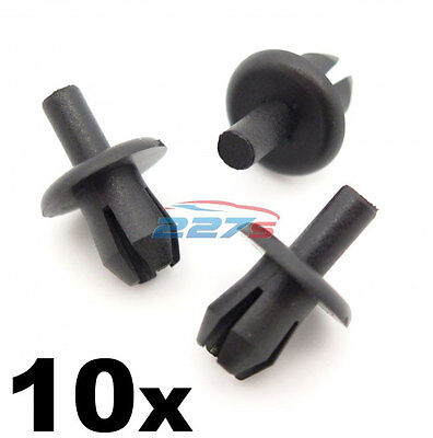10x Vauxhall Corsa & Tigra Front Wheel Arch Liner Clips- Inner Wing Splashguard