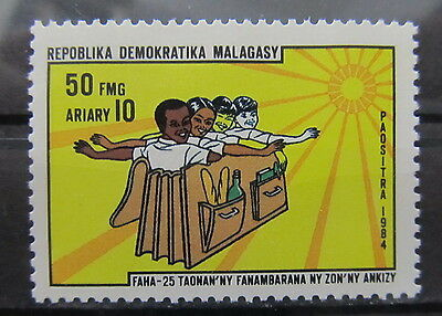 A2168 Malagasy Republic 1984 Children's Rights Mnh**